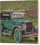 1923 Studebaker Big Six Touring Car Wood Print