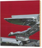 1924 Ford Hood Ornament Wood Print