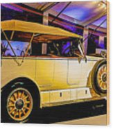 1925 Renault 40cv Tourer Wood Print