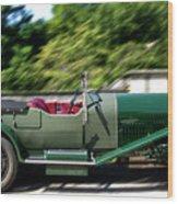1926 Bentley Automobile Wood Print