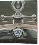 1926 Dodge Woody Wagon Hood Ornament Wood Print