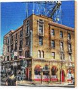 1927 Hotel Monte Vista - Flagstaff  Wood Print