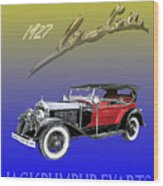 1927 Lasalle Wood Print