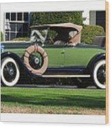 1928 -1931 Roadster Wood Print