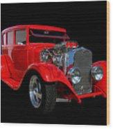 1928 Dodge Street Rod Wood Print
