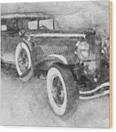 1928 Duesenberg Model J - Automotive Art - Car Posters Wood Print