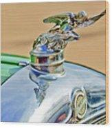 1928 Studebaker Hood Ornament Wood Print