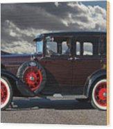 Classic 4 Door Ford Wood Print