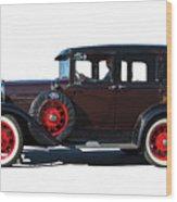 Beautiful Ford Sedan Wood Print