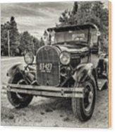 1929 Ford Model A Pickup Wood Print