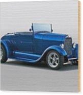 1929 Ford 'pretty Boy' Roadster Wood Print