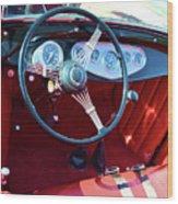 1929 Roadster Dashboard Wood Print