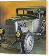 1930-31 Ford 'lakester' Coupe II Wood Print