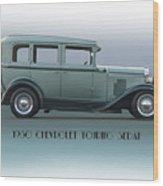 1930 Chevrolet Touring Sedan Wood Print