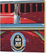 1930 Cord L29 Phaeton Emblem Wood Print