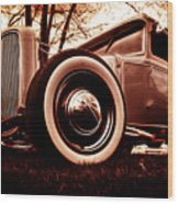 1930 Ford Model A Wood Print by Phil 'motography' Clark