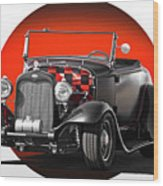 1930 Ford 'red Ball Express' II Wood Print