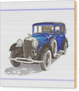 1930 Lincoln L Berline Wood Print