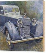 1938 Hispano Suiza J12 Wood Print