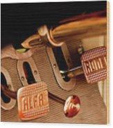 1931 Alfa Romeo 6c 1750 Gran Sport Aprile Spider Corsa Pedals Wood Print