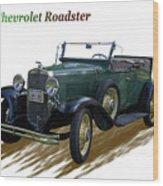 1931 Chevrolet Antique Roadster Wood Print