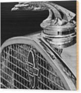 1931 Chevrolet Hood Ornament 4 Wood Print