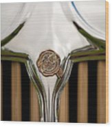 1931 Chrysler Coupe Grille Emblem Wood Print