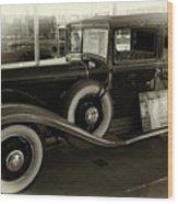 1931 Chrysler  Wood Print