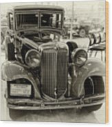 1931 Chrysler Front View Wood Print