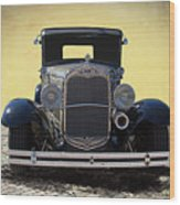 1931 Ford Model A Coupe Wood Print