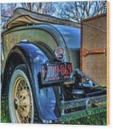 1931 Ford Model A Wood Print