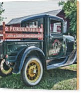 1931 Ford Truck Wood Print