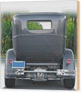 1931 Ford Tudor Sedan 'see Ya' Wood Print