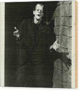 1931 Frankenstein Boris Karloff Wood Print