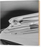 1931 Marmon Sixteen Coupe Hood Ornament 3 Wood Print