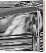1931 Marmon Sixteen Coupe Hood Ornament 4 Wood Print