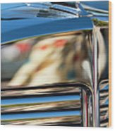 1931 Marmon Sixteen Coupe Hood Ornament Wood Print