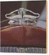 1931 Packard 840 Roadster Hood Ornament Wood Print