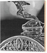 1931 Packard Convertible Victoria Hood Ornament 2 Wood Print