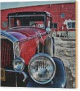 1931 Pierce Arow 3473 Wood Print
