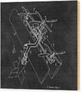 1931 Plane Patent Wood Print