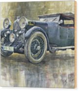 1932 Lagonda Low Chassis 2 Litre Supercharged Front Wood Print