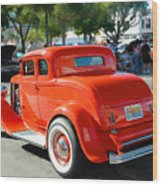 1932 Ford  5 Window Coupe Wood Print