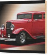 1932 Ford 'cherry Bomb' Sedan Wood Print