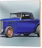 1932 Ford 'classic Hiboy' Roadster Xa Wood Print