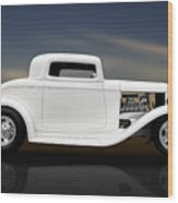 1932 Ford Coupe - 3 Window Wood Print