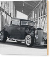 1932 Ford 'deuce' Coupe I Wood Print