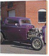 1932 Ford 'grape Soda' Coupe Wood Print