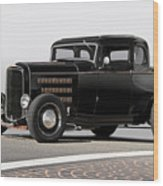 1932 Ford 'louvered' Coupe Wood Print