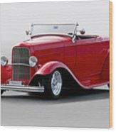 1932 Ford 'love Child' Roadster Wood Print